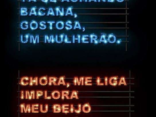 Rádio Clube Print Ad -  Popular music, 1