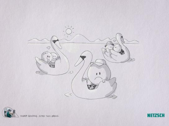 Netzsch Grinding Print Ad -  Park