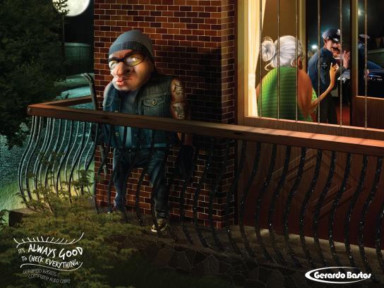 Gerardo Bastos Print Ad -  Robber
