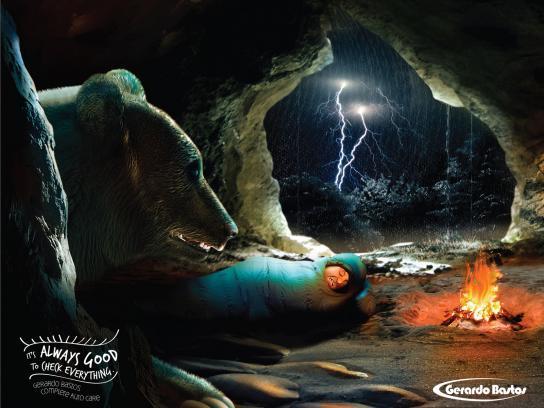 Gerardo Bastos Print Ad -  Bear