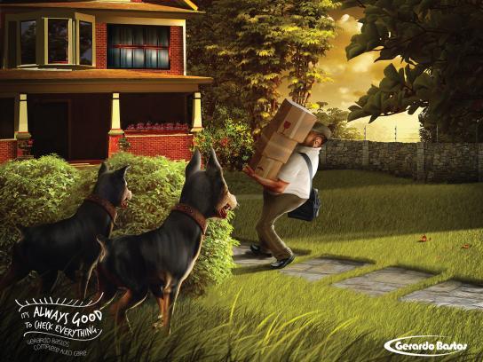 Gerardo Bastos Print Ad -  Dogs