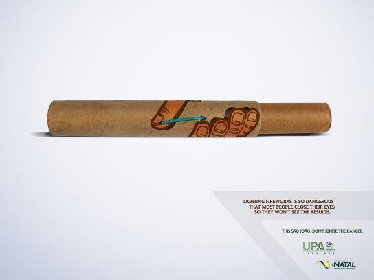 Natal Print Ad -  Fireworks, 1