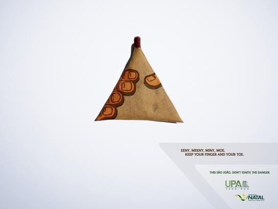 Natal Print Ad -  Fireworks, 3
