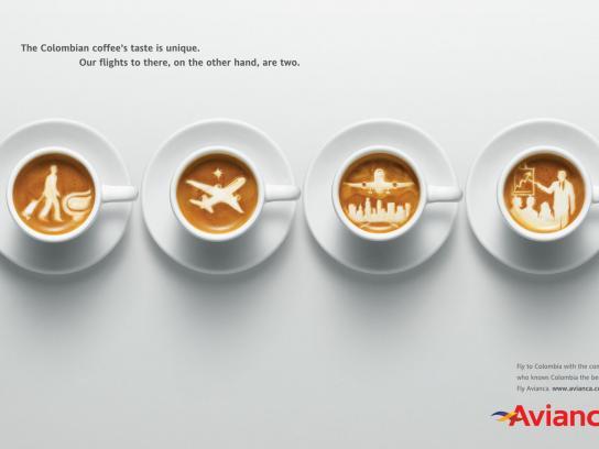 Avianca Print Ad -  Coffee, 1