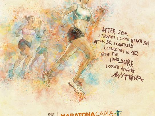 Maratona do Rio Print Ad -  Anything