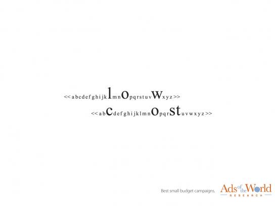 Ads of the World Print Ad -  Search line, 8
