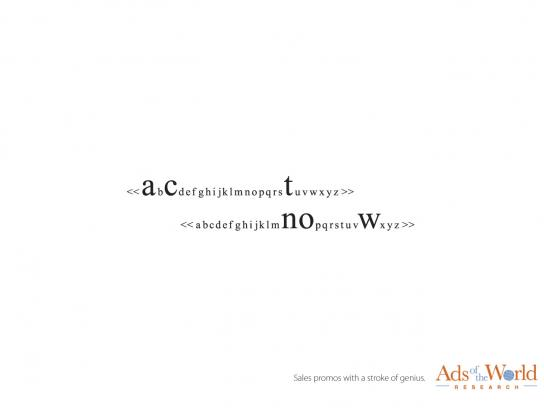 Ads of the World Print Ad -  Search line, 9