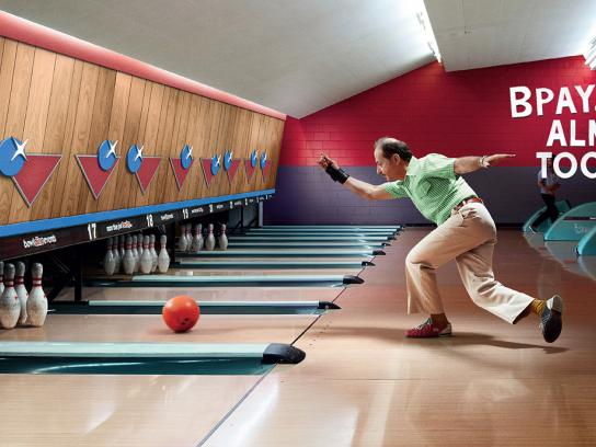 BPAY Print Ad -  Bowling