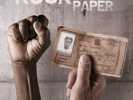 Apartheid Museum Print Ad -  Rock