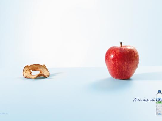 Volvic Print Ad -  Apple