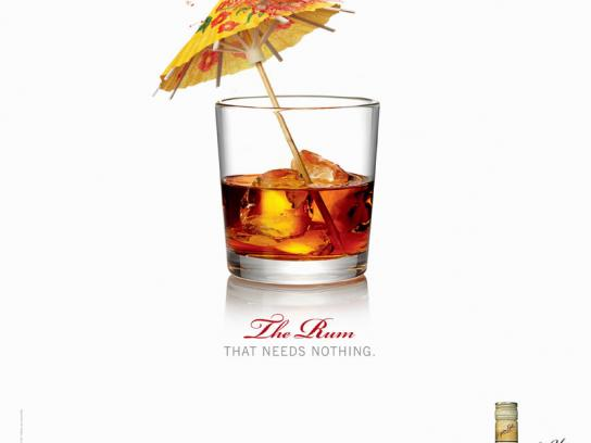Appleton Estate Print Ad -  Umbrella