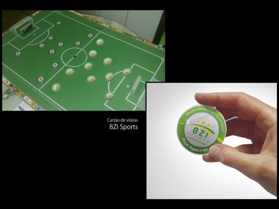 BZI Sports Direct Ad -  Business card