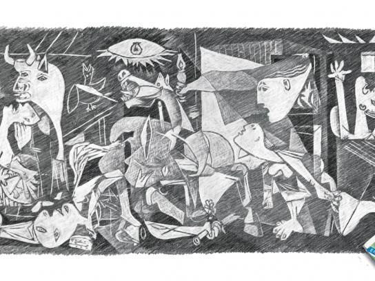 Apsara Print Ad -  Picasso