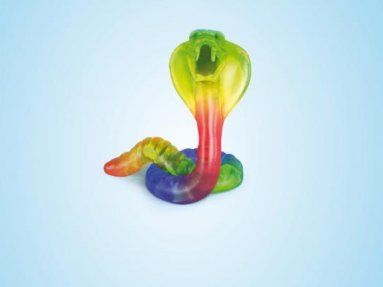 Aquafresh Print Ad -  Snake