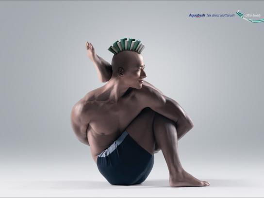 Aquafresh Print Ad -  Ultra-bendy, 3