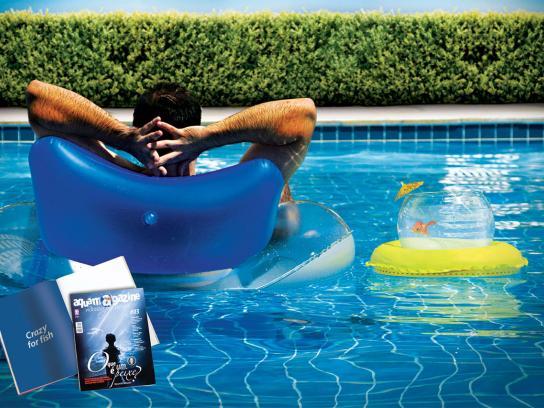 AquaMagazine Print Ad -  Crazy for Fish, 2