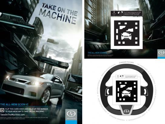 Scion Digital Ad -  Take On the Machine