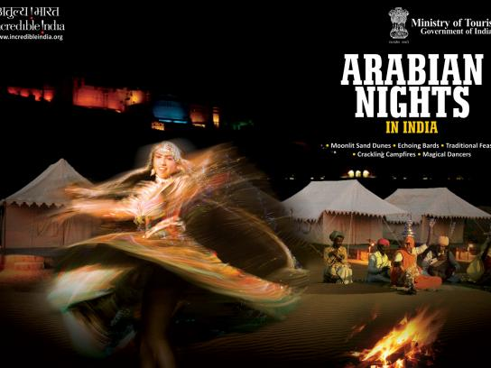 Incredible India Print Ad -  Arabian Nights