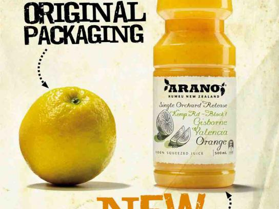 Arano Print Ad -  New