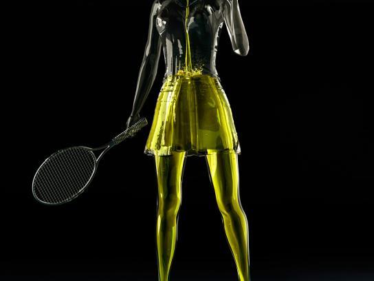 Sprim Print Ad -  Tennis