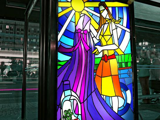 Ariel Ambient Ad -  Stained glass windows, 2