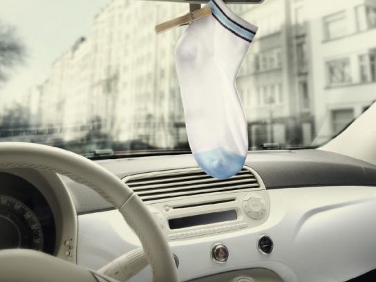 Ariel Print Ad -  Sock