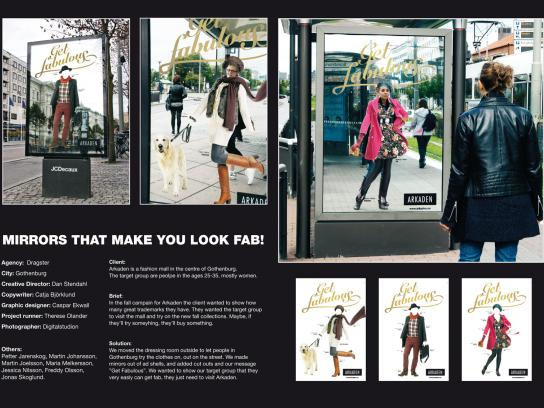 Arkaden Outdoor Ad -  Get fabulous