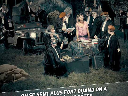 Test Achats Print Ad -  Army