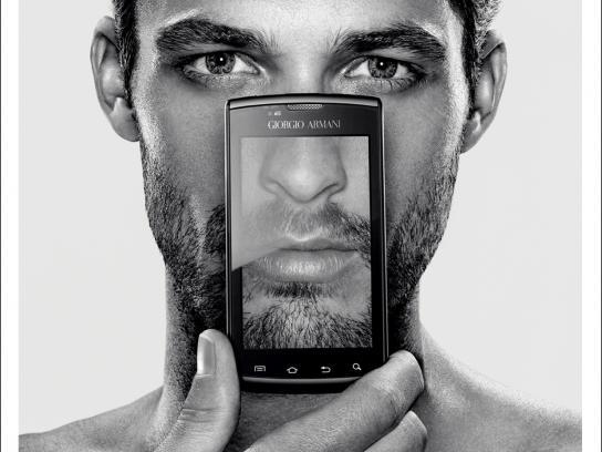 Samsung Print Ad -  Guy