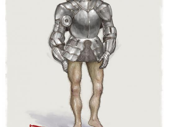 Mitsubishi Print Ad -  Armor