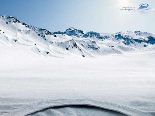Arno Print Ad -  Snow