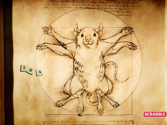 Scrabble Print Ad -  Art-rat