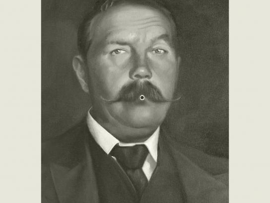 booksTALK Print Ad -  Arthur Conan Doyle