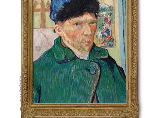 Art Against Knives Print Ad -  Van Gogh