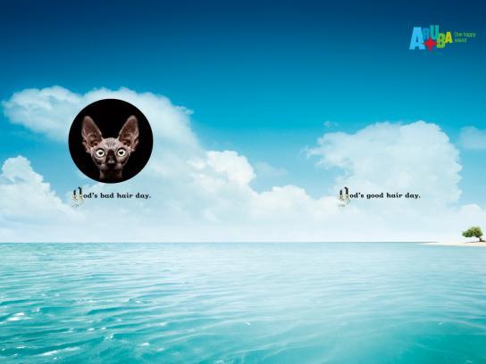 Aruba Print Ad -  God, 1