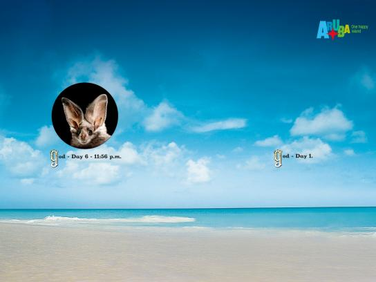 Aruba Print Ad -  God, 3