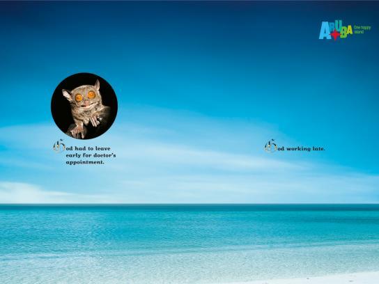 Aruba Print Ad -  God, 4