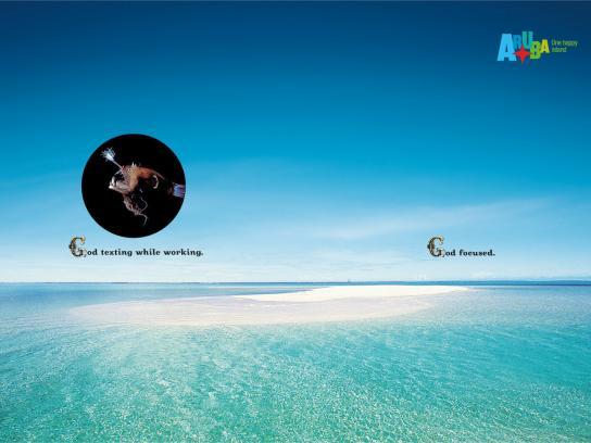 Aruba Print Ad -  God, 5