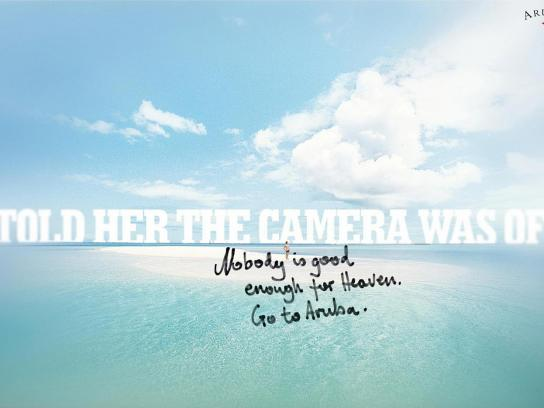 Aruba Tourism Authority Print Ad -  Camera
