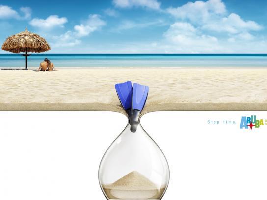 Aruba Print Ad -  Flippers