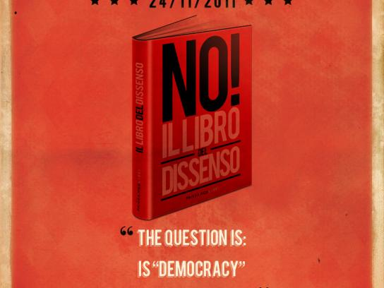 Fandango Libri Print Ad -  The book of dissent, Arundhati Roy