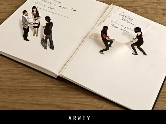 Arwey Print Ad -  Functional, 1