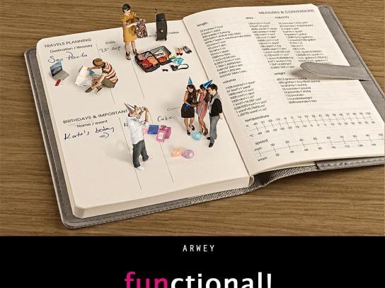 Arwey Print Ad -  Functional, 4