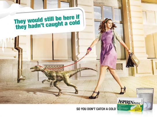 Aspirin Print Ad -  Street