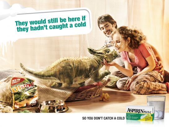 Aspirin Print Ad -  Home