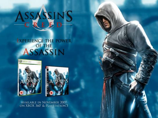 Assassin's Creed Digital Ad -  Experience