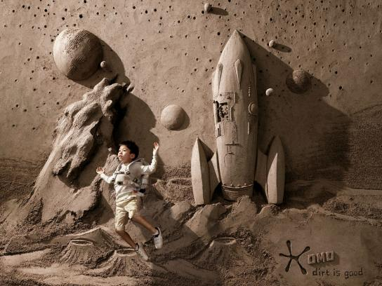 OMO Print Ad -  Astronaut