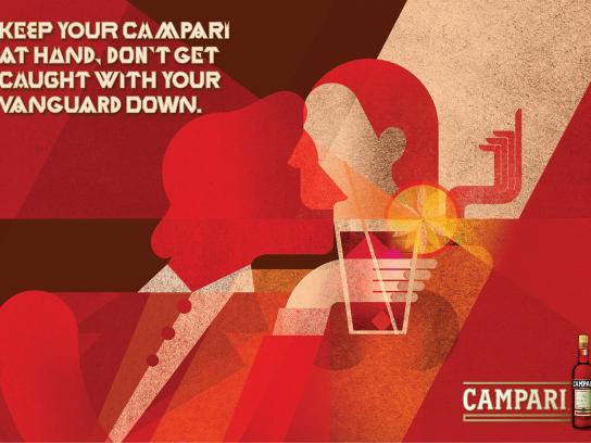 Campari Outdoor Ad -  At Hand