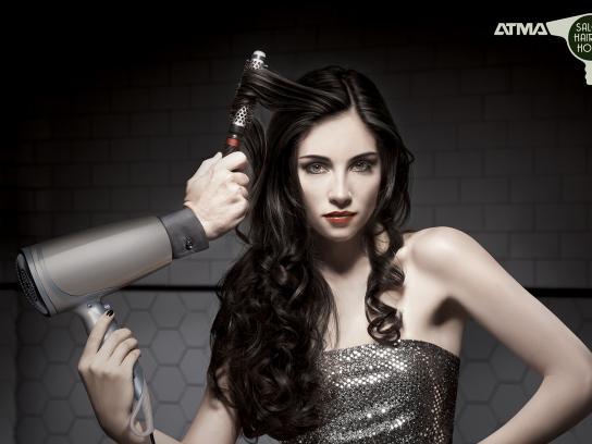 Atma Print Ad -  Black