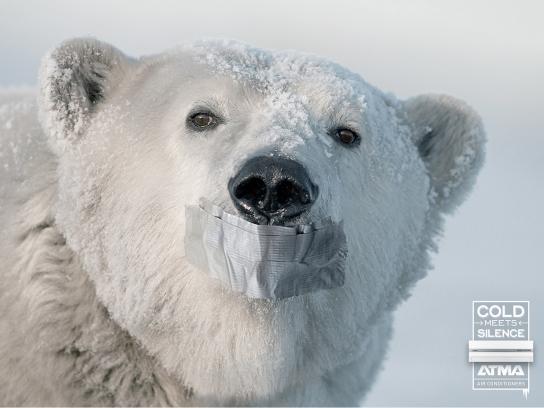 Atma Print Ad -  Polar Bear